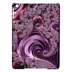 Purple Abstract Art Fractal Ipad Air Hardshell Cases by Sapixe