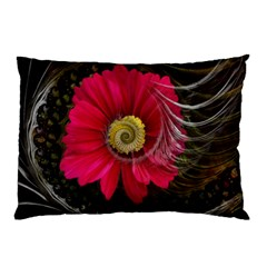 Fantasy Flower Fractal Blossom Pillow Case (two Sides) by Sapixe
