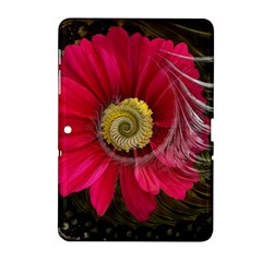 Fantasy Flower Fractal Blossom Samsung Galaxy Tab 2 (10 1 ) P5100 Hardshell Case  by Sapixe
