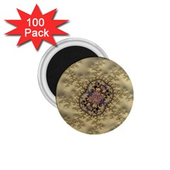 Fractal Art Colorful Pattern 1 75  Magnets (100 Pack)