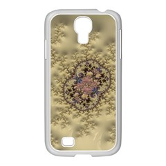 Fractal Art Colorful Pattern Samsung Galaxy S4 I9500/ I9505 Case (white) by Sapixe
