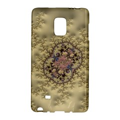 Fractal Art Colorful Pattern Galaxy Note Edge by Sapixe