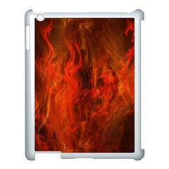 Fractal Abstract Background Physics Apple Ipad 3/4 Case (white)