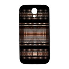 Fractal Art Design Geometry Samsung Galaxy S4 I9500/i9505  Hardshell Back Case by Sapixe