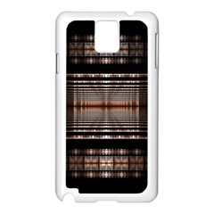 Fractal Art Design Geometry Samsung Galaxy Note 3 N9005 Case (white)