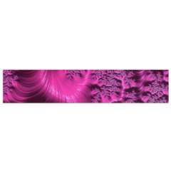 Fractal Artwork Pink Purple Elegant Small Flano Scarf