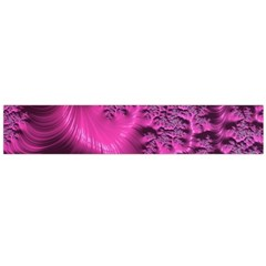 Fractal Artwork Pink Purple Elegant Large Flano Scarf  by Sapixe