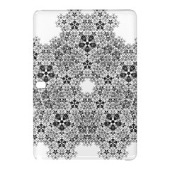 Fractal Background Foreground Samsung Galaxy Tab Pro 12 2 Hardshell Case by Sapixe