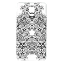 Fractal Background Foreground Galaxy Note 4 Back Case by Sapixe