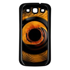 Fractal Mathematics Abstract Samsung Galaxy S3 Back Case (black)