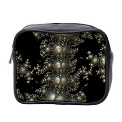 Fractal Math Geometry Backdrop Mini Toiletries Bag 2-side by Sapixe