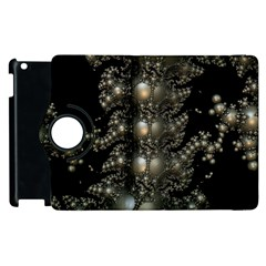 Fractal Math Geometry Backdrop Apple Ipad 3/4 Flip 360 Case by Sapixe