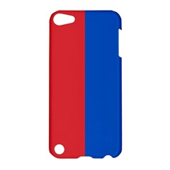 Red And Blue Apple Ipod Touch 5 Hardshell Case by jumpercat