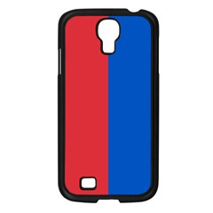 Red And Blue Samsung Galaxy S4 I9500/ I9505 Case (black)
