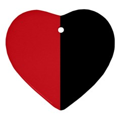 Red And Black Ornament (heart)