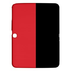 Red And Black Samsung Galaxy Tab 3 (10 1 ) P5200 Hardshell Case  by jumpercat