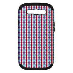 Arabic Ornament Stripes Samsung Galaxy S Iii Hardshell Case (pc+silicone)
