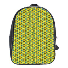 Mechanical Pattern School Bag (large) by jumpercat