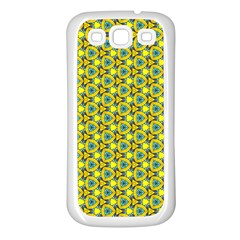 Mechanical Pattern Samsung Galaxy S3 Back Case (white)
