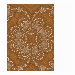Fractal Pattern Decoration Abstract Small Garden Flag (two Sides) by Sapixe