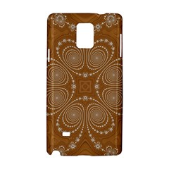 Fractal Pattern Decoration Abstract Samsung Galaxy Note 4 Hardshell Case by Sapixe