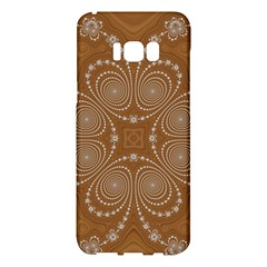 Fractal Pattern Decoration Abstract Samsung Galaxy S8 Plus Hardshell Case