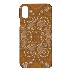 Fractal Pattern Decoration Abstract Apple Iphone X Hardshell Case