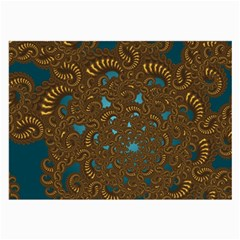 Fractal Abstract Pattern Large Glasses Cloth (2 Side)