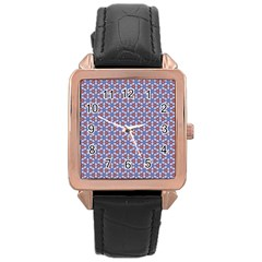 Galactic Trip Rose Gold Leather Watch