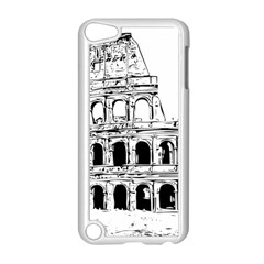Line Art Architecture Apple Ipod Touch 5 Case (white) by Sapixe