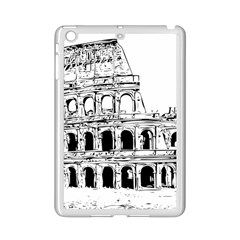 Line Art Architecture Ipad Mini 2 Enamel Coated Cases by Sapixe