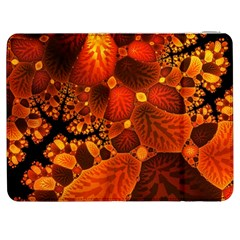 Leaf Autumn Nature Background Samsung Galaxy Tab 7  P1000 Flip Case by Sapixe