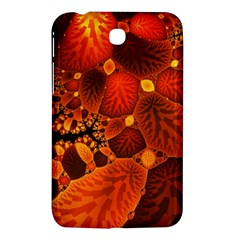 Leaf Autumn Nature Background Samsung Galaxy Tab 3 (7 ) P3200 Hardshell Case  by Sapixe