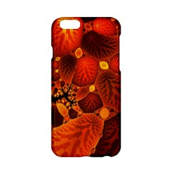 Leaf Autumn Nature Background Apple Iphone 6/6s Hardshell Case