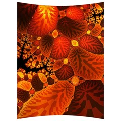 Leaf Autumn Nature Background Back Support Cushion by Sapixe
