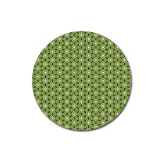 Greenville Pattern Magnet 3  (round)