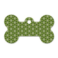 Greenville Pattern Dog Tag Bone (one Side) by jumpercat