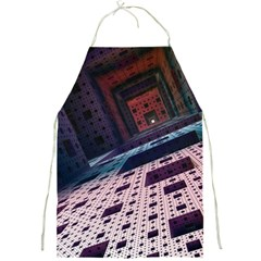 Industry Fractals Geometry Graphic Full Print Aprons