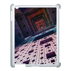 Industry Fractals Geometry Graphic Apple Ipad 3/4 Case (white)