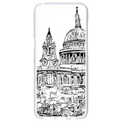 Line Art Architecture Church Samsung Galaxy S8 White Seamless Case