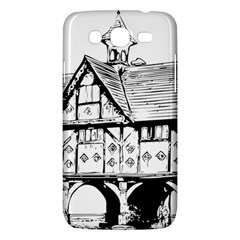 Line Art Architecture Vintage Old Samsung Galaxy Mega 5 8 I9152 Hardshell Case  by Sapixe