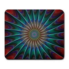 Fractal Peacock Rendering Large Mousepads by Sapixe