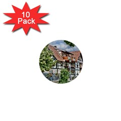 Homes Building 1  Mini Buttons (10 Pack)