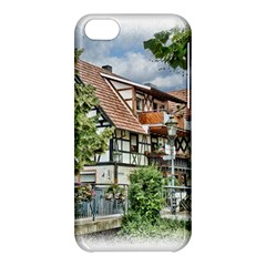 Homes Building Apple Iphone 5c Hardshell Case by Sapixe