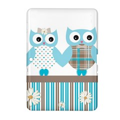 Owl Animal Daisy Flower Stripes Samsung Galaxy Tab 2 (10 1 ) P5100 Hardshell Case