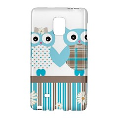 Owl Animal Daisy Flower Stripes Galaxy Note Edge