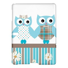 Owl Animal Daisy Flower Stripes Samsung Galaxy Tab S (10 5 ) Hardshell Case  by Sapixe