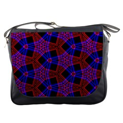 Pattern Abstract Wallpaper Art Messenger Bags