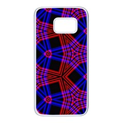 Pattern Abstract Wallpaper Art Samsung Galaxy S7 White Seamless Case