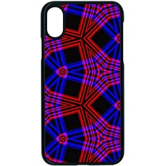 Pattern Abstract Wallpaper Art Apple Iphone X Seamless Case (black) by Sapixe